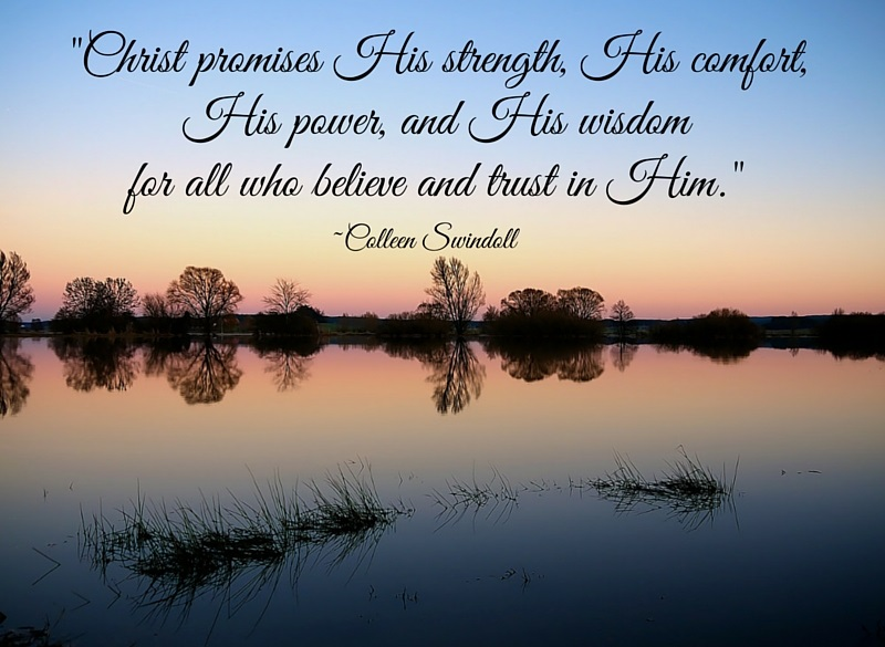 Christ promises His strength