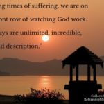 During Time of Suffering