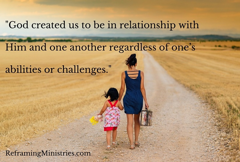 God created us to be
