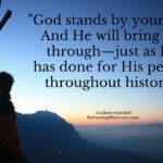 God stands by your side