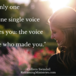There's only one voice one
