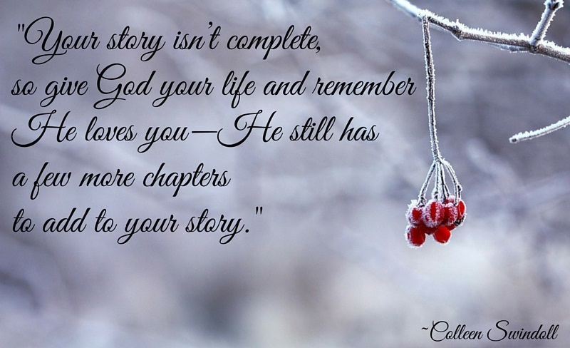 Your Story Isn't Complete