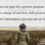 God can use our pain for a greater purpose