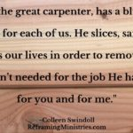 Jesus, the great carpenter