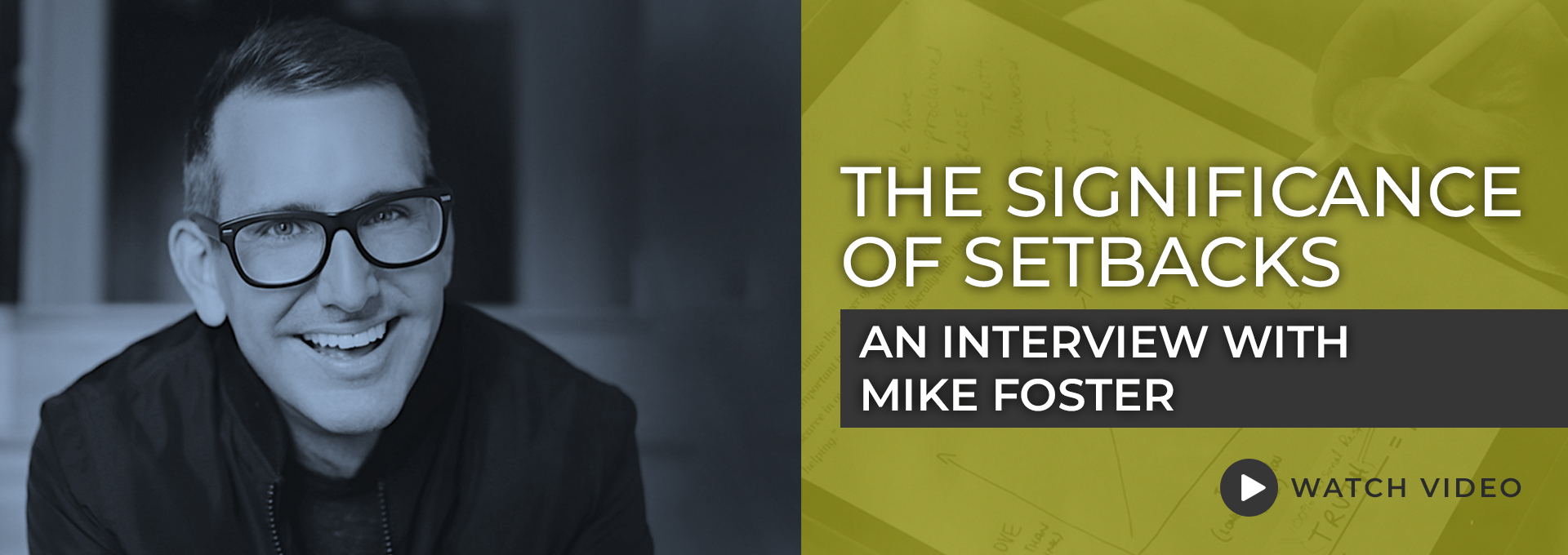 Mike Foster interview